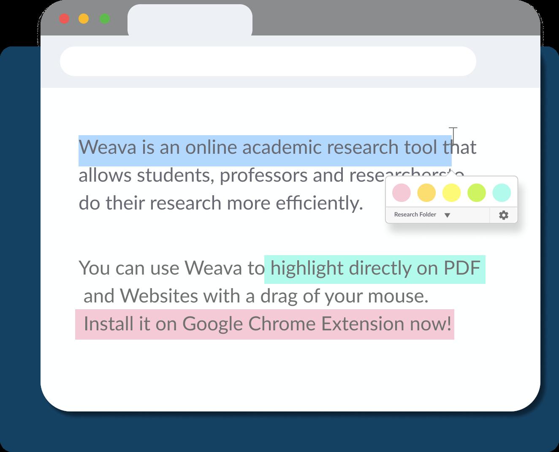 Highlight with Weava